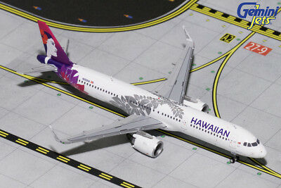 Gemini Jets Hawaiian Airlines Airbus A321Neo 1:400 Die-Cast Gjhal1653 In Stock