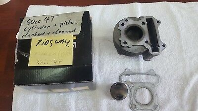 Cylinder + piston for 50cc 4-stroke scooters like Kymco / chinese 4T scooter 50
