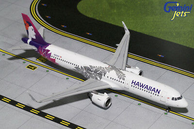 Gemini Jets Hawaiian Airlines A321Neo 1:200 Die-Cast G2Hal675 In Stock