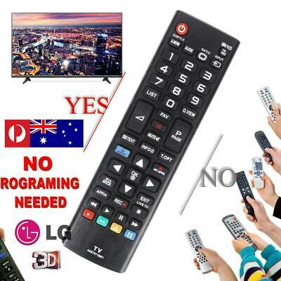 NEW LG REMOTE CONTROL TV LG LED LCD 3D WORKS for all LG Tv's from 2011 - 2018