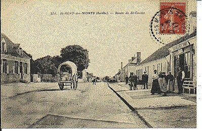(S-28073) FRANCE - 72 - ST REMY DES MONTS CPA      DOLBEAU A.  ed.