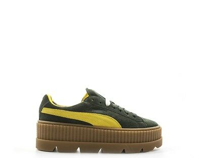 SNEAKERS BASKETS PUMA Heart , Lacets Satin , Comme Neuf