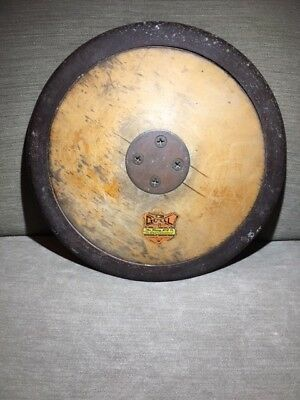 Vintage Gill Brass Wood And Steel Discus Nice Original Condition