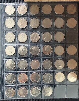 1966 - 2017 20 cent circulating coin set (39 platypus coins)