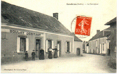 (S-85949) France - 72 - Lombron Cpa Boulay Debitant