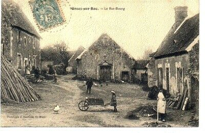 (S-95783) France - 72 - Greez Sur Roc Cpa