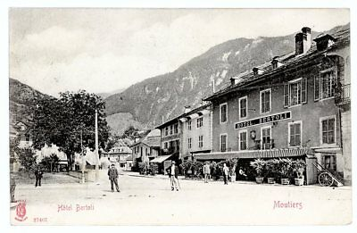 (S-50721) FRANCE - 73 - MOUTIERS CPA      KUNZLI fr�res ed.
