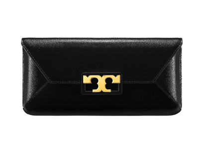 Tory Burch GIGI Patent Clutch For Woman with Free Gift Free Shipping