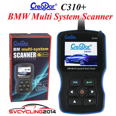 New V7.2 Creator C310+ BMW Multi System Scan Tool Support for USB 2.0 upgrade