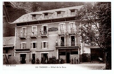 (S-41940) FRANCE - 74 - THONES CPA      MOLLAND ed.