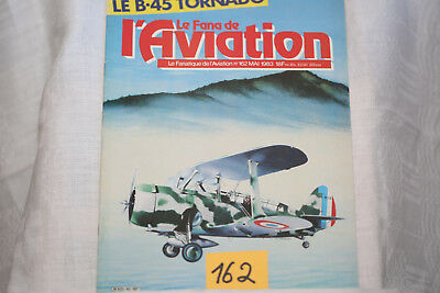 le fana de l'aviation-n°162-le North American B45 Tornado-les Caudron trimoteurs