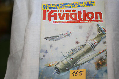 le fana de l'aviation-n°165-le T33 2°-le Grumman hawkeye (fin)-8/83