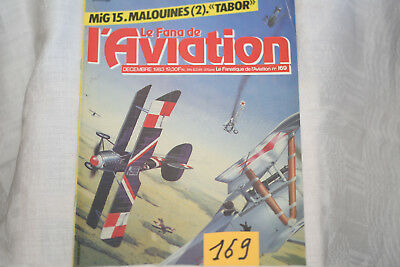 le fana de l'aviation-n°169-le Fiat CR2 (fin)-le Tarrant Tabor-12/83
