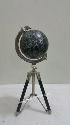 Nautical Globe World Classic Series with Wooden Tripod