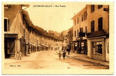 (S-100670) FRANCE - 74 - FAVERGES CPA      MIEVRE  ed.