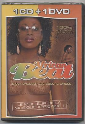 NEUF 1 CD + 1 DVD AFRICAN BEAT musique africaine DANY ENGOBO 100% N'DOMBOLO SOUK