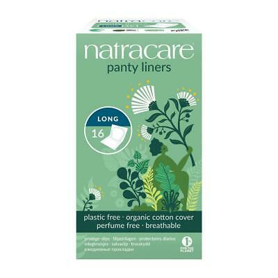 Natracare Organic Long Wrapped Panty Liners 16 pcs