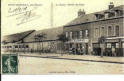 (S-40166) FRANCE - 76 - PETIT QUEVILLY CPA      LAZARUS A. ed.