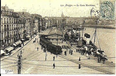 (S-48924) FRANCE - 76 - DIEPPE CPA      MARCHAND G. ed.