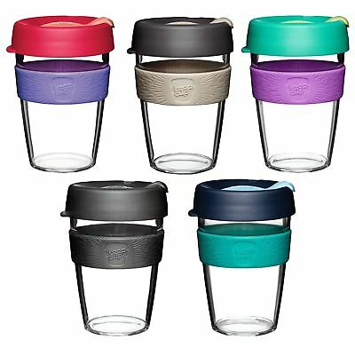 Keep Cup Clear Plastic Edition BPA BPS Free Travel Mug Coffee Tea Cup