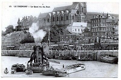 (S-101469) France - 76 - Le Treport Cpa