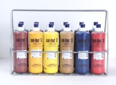CAL-TINT II Universal Tinting Colorants STARTER SET 12 COLORS - with Free Rack!