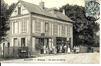 (S-56030) France - 76 - Breaute Cpa Restaurant - Epicerie