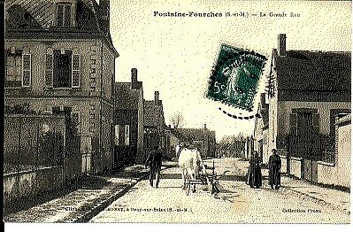 (S-28592) FRANCE - 77 - FONTAINE FOURCHES CPA      SIMONET  ed.