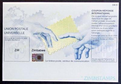 Zimbabwe / Rhodesia 2009 International Reply Coupon Mint **see Scans**