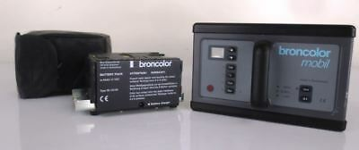 BRONCOLOR MOBIL GENERATOR (Type 31.010.10-16) with extra battery|000-1264873