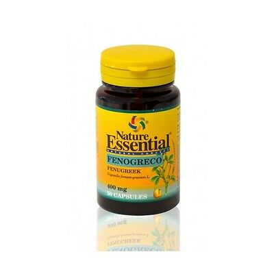 Fenogreco 50 capsulas 400Mg Nature Essential