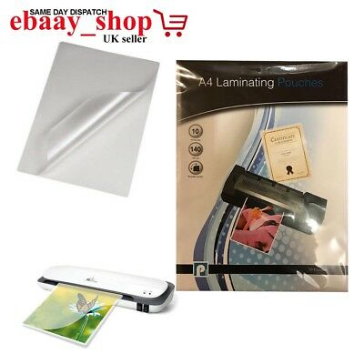 A4 Size Document Laminating Pouches Set Office School Documents Protector