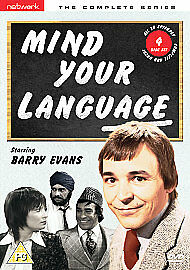 Mind Your Language - Series 1-3 - Complete  4-Disc Set      New    Fast   Post