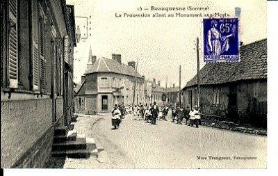 (S-28245) FRANCE - 80 - BEAUQUESNE CPA      TRONGNEUX  ed.