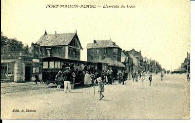 (S-28479) FRANCE - 80 - FORT MAHON PLAGE CPA      DEMON A. ed.