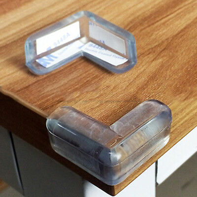 20Pcs Clear Baby Safety Table Desk Edge Corner Cushion Guard Bumper Protector