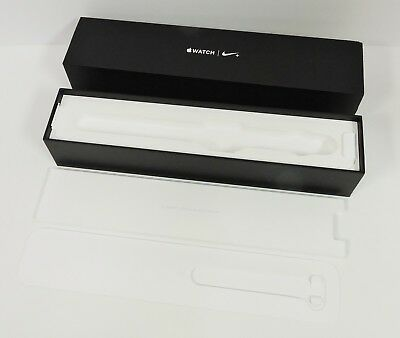 Apple Watch Series 2 42mm Nike+ Silver Aluminum Platinum Empty Box Only NO WATCH