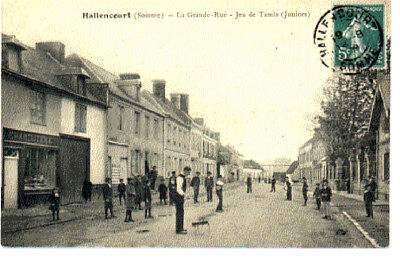 (S-86157) France - 80 - Hallencourt Cpa