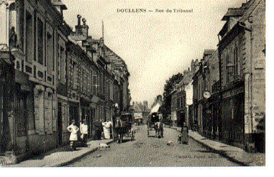 (S-86185) France - 80 - Doullens Cpa
