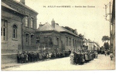 (S-89004) FRANCE - 80 - AILLY SUR SOMME CPA      CROGNIER Vve  ed.