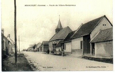 (S-89012) FRANCE - 80 - ABANCOURT CPA      COTTINET  ed.