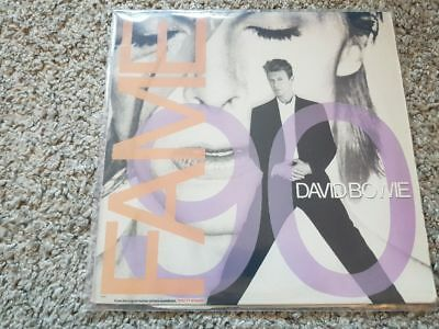David Bowie - Fame '90 US REMIXES 12'' Disco Vinyl