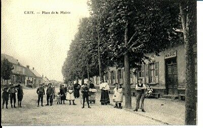 (S-28403) France - 80 - Caix Cpa