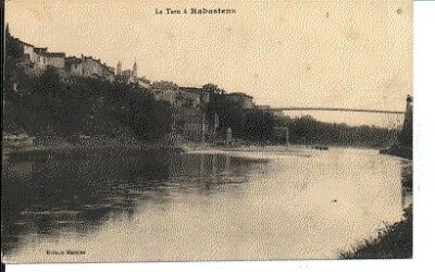 (S-65973) FRANCE - 81 - RABASTENS CPA PONT SUR LE TARN     MAURIES ed.