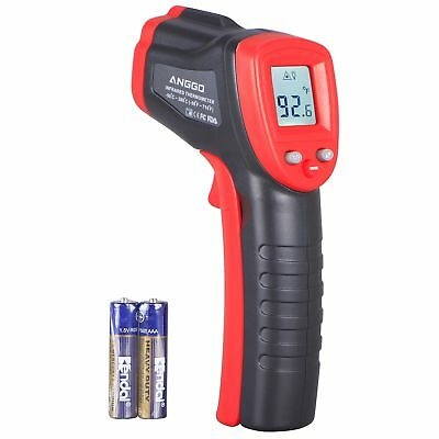 Infrared Thermometer , ANGGO Non-contact Digital Laser Temperature Gun with LCD