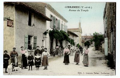 (S-96653) FRANCE - 82 - CORBARIEU CPA TABAC     LESCURE J. ed.