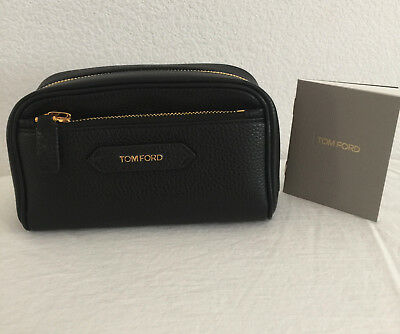 TOM FORD WOMENS SMALL LEATHER COSMETICS BAG - Discontinued