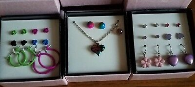 Jewelry Gift Set, Necklaces and Earrings for Kids, Girls, Pick any two sets