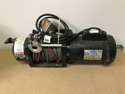 Dayton 4ZY95 Electric Winch 10.3 fpm and 3000 lb (used) Free Shipping