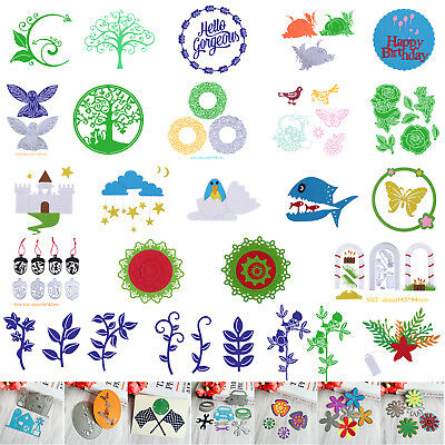 Various Shape Metal Cutting Dies Stencils DIY Scrapbook Paper Card Handmade Gift